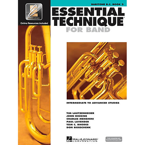 Hal Leonard Essential Technique for Band - Baritone B.C. (Book 3 with EEi)