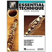Hal Leonard Essential Technique for Band -  Bb Bass Clarinet (Book 3 with EEi)