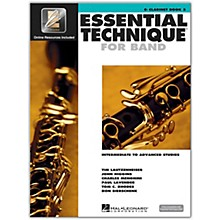 Hal Leonard Essential Technique for Band - Bb Clarinet (Book 3 with EEi)