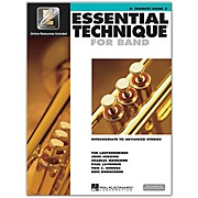 Hal Leonard Essential Technique for Band - Bb Trumpet (Book 3 with EEi)