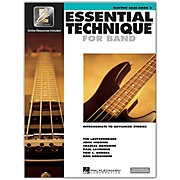 Hal Leonard Essential Technique for Band - Electric Bass (Book 3 with EEi)