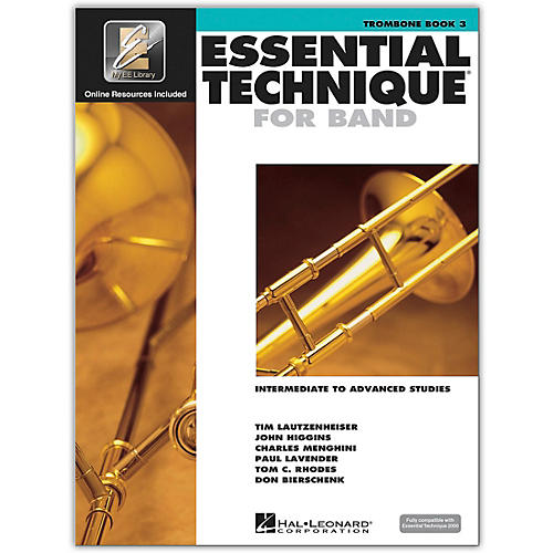 Hal Leonard Essential Technique for Band - Trombone (Book 3 with EEi)