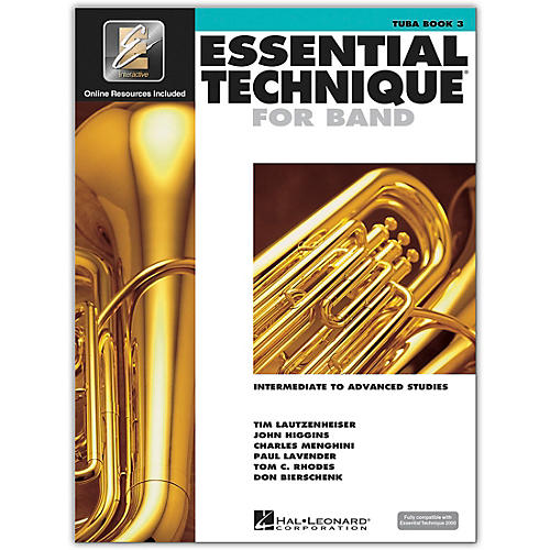 Hal Leonard Essential Technique for Band - Tuba (Book 3 with EEi)-thumbnail