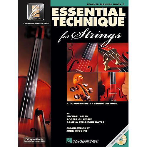 Hal Leonard Essential Technique for Strings - Teacher Manual (Book 3 with EEi and CD)-thumbnail