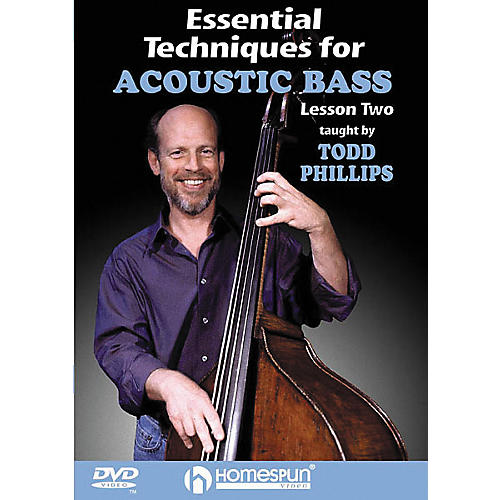 Homespun Essential Techniques for Acoustic Bass 1 (DVD)