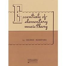 Rubank Publications Essentials of Elementary Music Theory Method Series