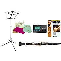 Etude ECL 100 Beginner Student Clarinet Bundle (ECL100-123 Kit)