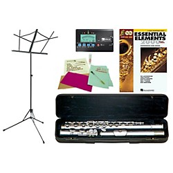 Etude EFL-100 Beginner Student Flute Bundle (EFL100-123 Kit)