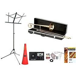 Etude ETB 100 Beginner Student Trombone Bundle (ETB100-123 Kit)