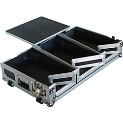 Eurolite CDJ-400 Coffin Case with Laptop Shelf (AC-DJCD400M10WCT)
