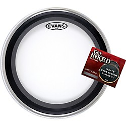 "Evans EMAD Bass Drumhead Pack 22"" with INKED by Evans Gift Card (EMAD-INKEDGC)"