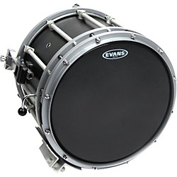 Evans Hybrid-Soft Marching Snare Drum Batter Head Black (SB13MHSB)