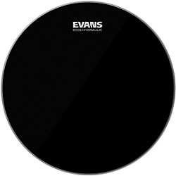 Evans Hydraulic Black Tom Batter Drumhead (TT12HBG)