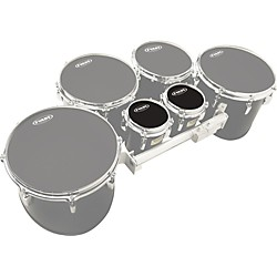 "Evans MX Black Tenor Drumhead 6"" Shot 3-Pack (KIT - 430732)"