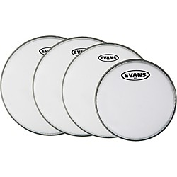 Evans MX White Tenor Drumhead 4-Pack (KIT - 430733)