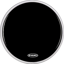 Evans Resonant Black Bass Drumhead (BD20RBG)