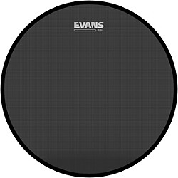 Evans Retro Screen Front Bass Head Black (BD22SCR)