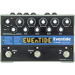 Eventide TimeFactor Twin Delay Guitar Effects Pedal (1143-011)
