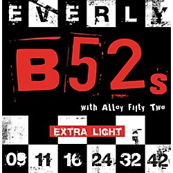 Everly B-52 Rockers Alloy Extra Light Electric Guitar Strings (9209)