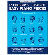 Music Sales Everybody's Favorite Easy Piano Pieces