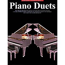 Music Sales Everybody's Favorite Piano Duets Music Sales America Series Softcover Composed by Various