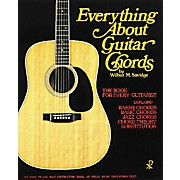 Music Sales Everything About Guitar Chords Music Sales America Series Softcover Written by Wilbur M. Savidge