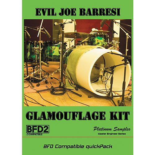 Platinum Samples Evil Joe Barresi Glamouflage Kit QuickPack for BFD-thumbnail