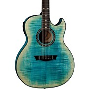 Dean Exhibition Flame Maple Acoustic-Electric Guitar