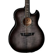 Dean Exhibition Ultra Flame Acoustic-Electric Guitar