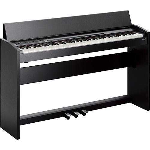 Roland F-120 SuperNATURAL Piano (Satin Black)-thumbnail