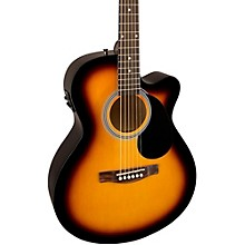 Fender FA-135CE Cutaway Concert Acoustic-Electric Guitar