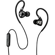 JLab Audio FIT 2.0 Sport IPX Earbuds with Mic and Memory Wire Earhooks