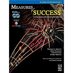 FJH Music Measures of Success B-flat Tenor Saxophone Book 1 (BB208TSX)