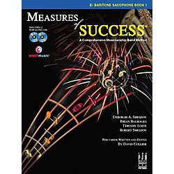 FJH Music Measures of Success E-flat Baritone Saxophone Book 1 (BB208BSX)
