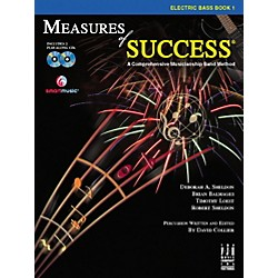 FJH Music Measures of Success Electric Bass Book 1 (BB208EB)