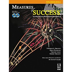 FJH Music Measures of Success Percussion Book 2 (BB210PER)