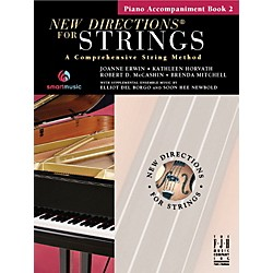 FJH Music New Directions For Strings, Piano Accompaniment Book 2 (SB304PIA)