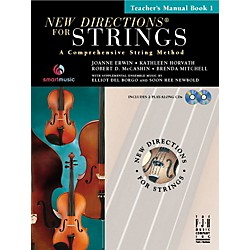 FJH Music New Directions For Strings, Teacher Manual Book 1 (SB303TM)