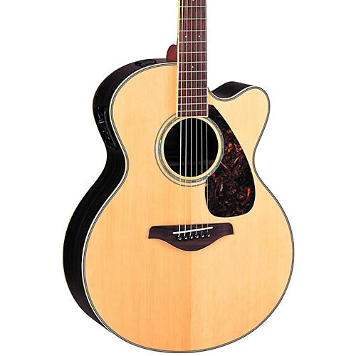 Yamaha FJX730SC Solid Spruce Top Rosewood Acoustic-Electric Guitar