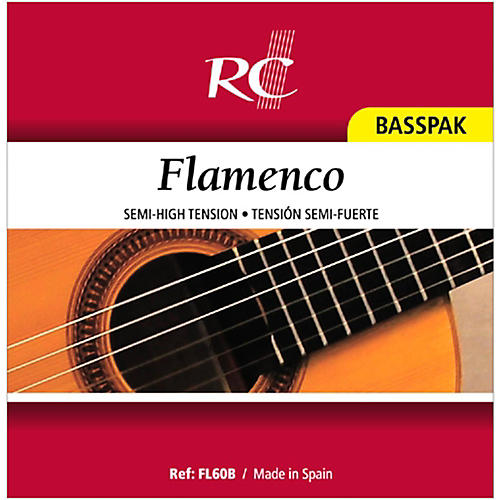RC Strings FL60B Flamenco Basspak - 4th, 5th and 6th Strings for Nylon String Guitar-thumbnail