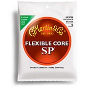 Martin FX700 12-String SP Flexible Core Custom Gauge Acoustic Guitar Strings