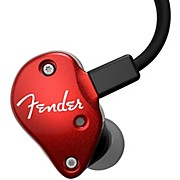 Fender FXA6 Pro In-Ear Monitors - Red
