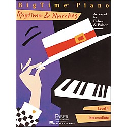 Faber Music Bigtime Piano Ragtime & Marches Level 4 Intermediate - Faber Piano (420211)