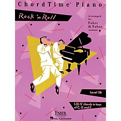 Faber Music Chordtime Piano - Level 2B Rock 'N' Roll Faber Piano Adventures Series (420130)