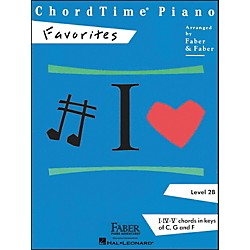 Faber Music Chordtime Piano Favorites Level 2B - Faber Piano (420123)