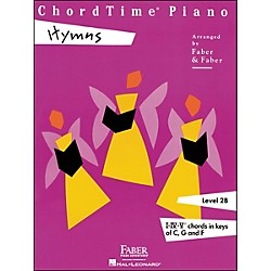 Faber Music Chordtime Piano Hymns Book Level 2B Chords In Keys C, G, And F - Faber Piano (420112)