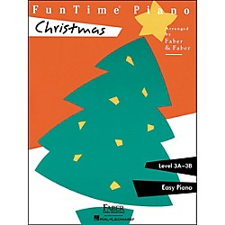 Faber Music Funtime Piano Christmas Level 3A-3B Easy Piano - Faber Piano (420115)