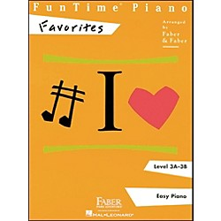 Faber Music Funtime Piano Favorites Book Level 3A-3B Easy Piano - Faber Piano (420163)