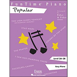 Faber Music Funtime Popular Level 3A - 3B Easy Piano (420116)