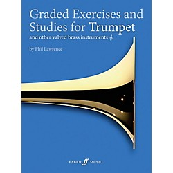 Faber Music Graded Exercises for Trumpet and Other Valved Brass Instruments Book (12-0571537278)